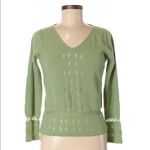 ▪️mint green cashmere sweater▪️reformation vintage